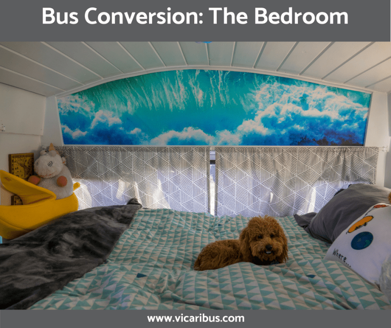 Bus Conversion: The Bedroom