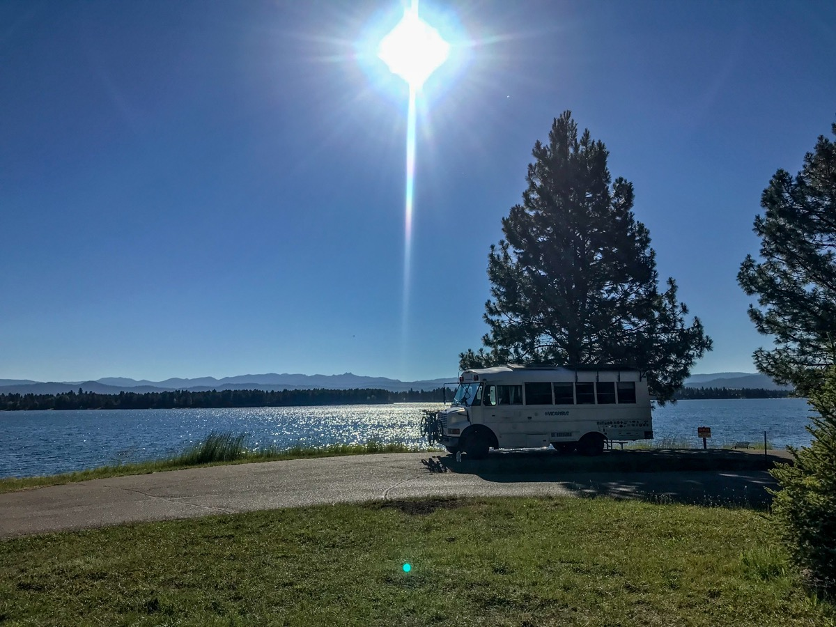 cascade lake, best campgrounds, idaho, waterfront campsites