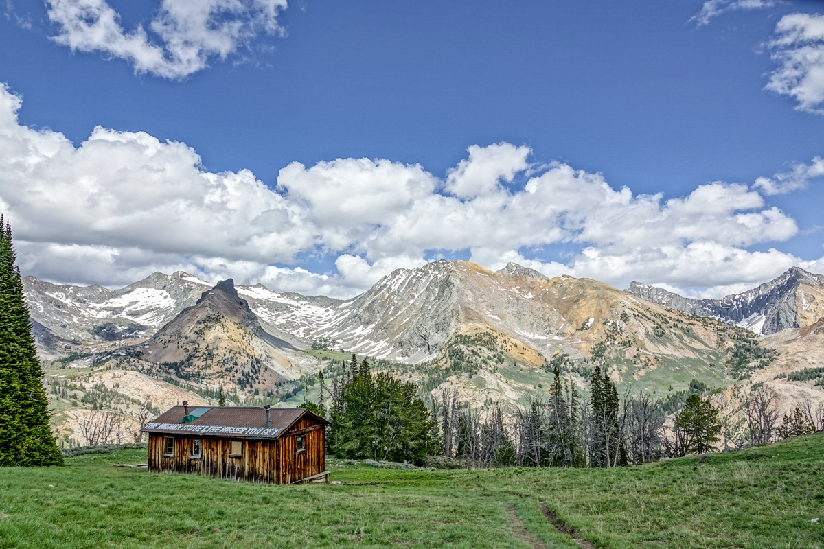 pioneer cabin, mountains, sun valley, idaho, awesome hikes
