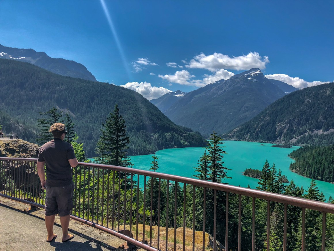 diablo lake, north cascades national park, scenic viewpoint, turquoise water, glacier lake, beautiful places