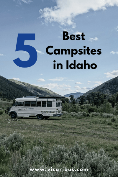 best campsites in idaho, campgrounds, boondocking, rv parkings, camping