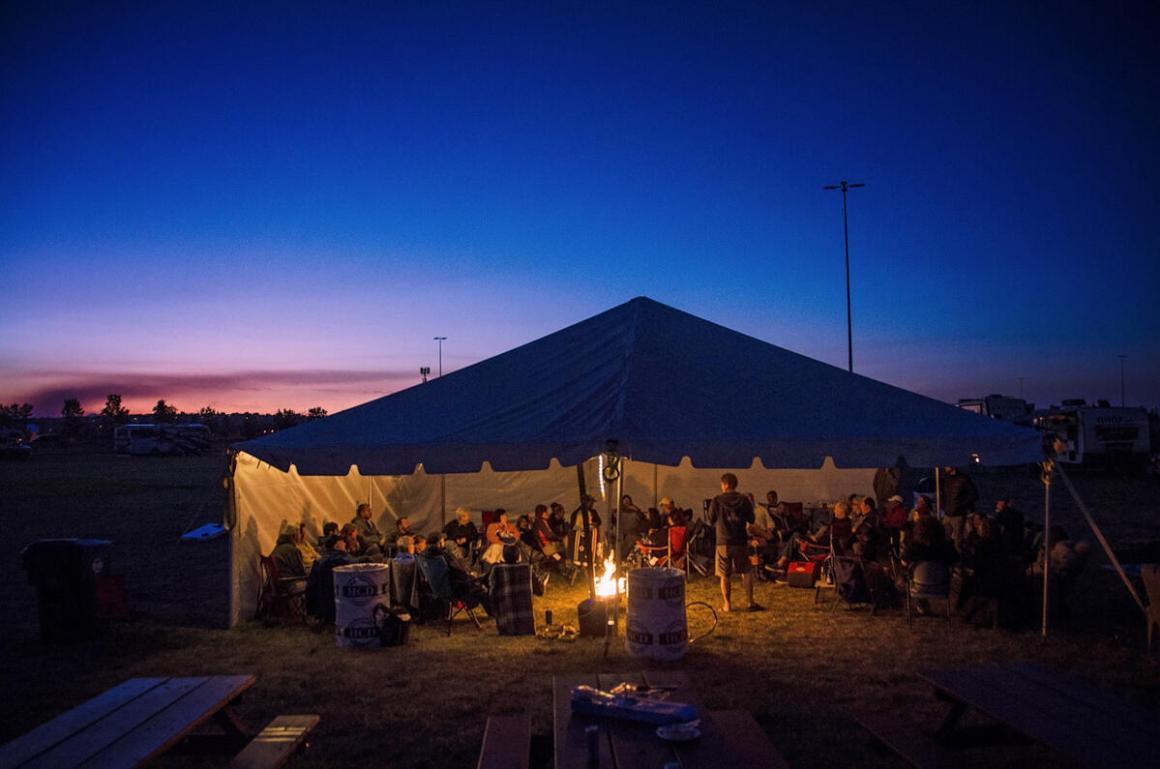 Tent shenanigans