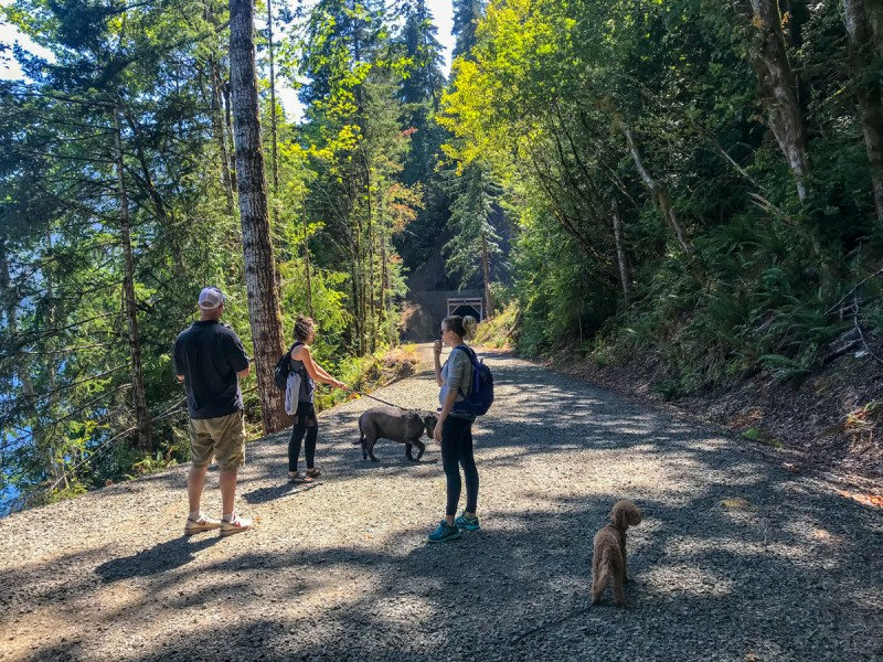 Hiking Lake Crescent