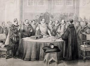 Ondertekening van de Unie van Utrecht in 1579