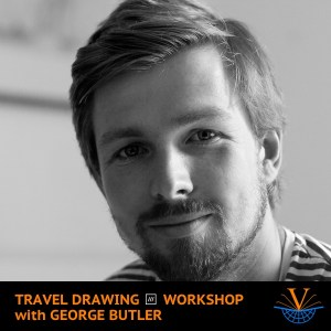 Travel Drawing what3words Workshop with George Butler