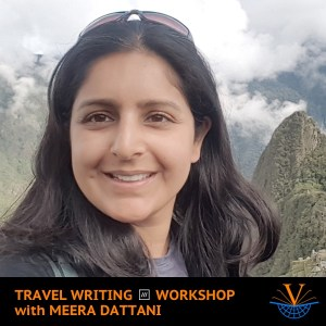Travel Writing what3words Workshop with Meera Dattani
