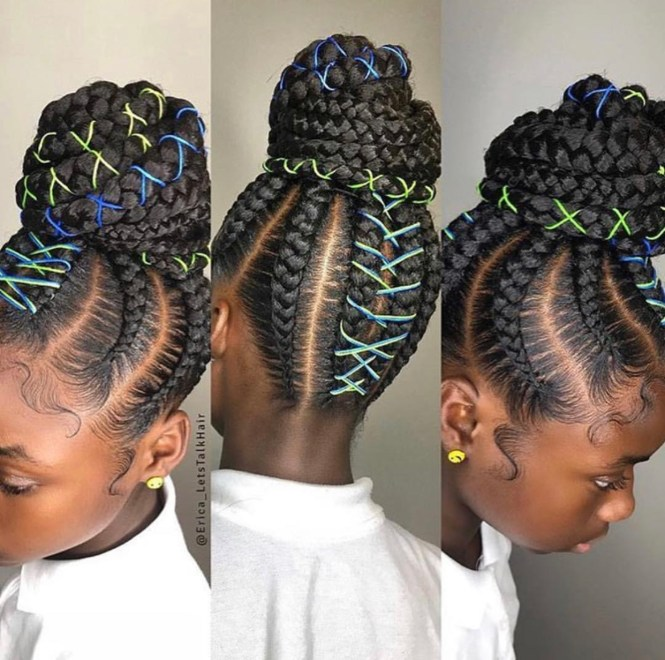 11 Cute Braided Cornrow Hairstyles For Natural Hair