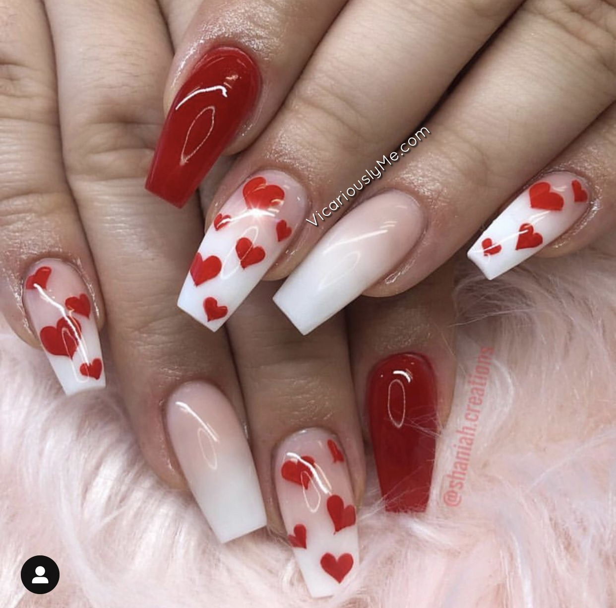15 Best Valentines Day Nails 2019 part 2 \u2013 Vicariously Me