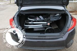 Civic Seat on frame fold