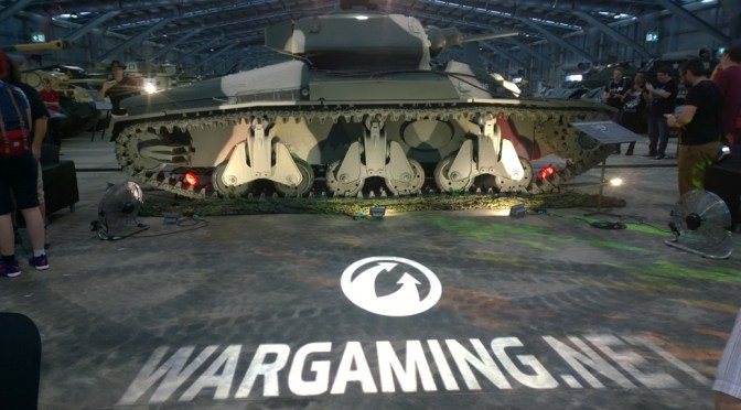 World of Tanks interview with The Chieftain, Nicholas Moran