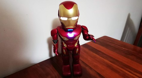 Iron Man MK50 Robot by Ubtech review