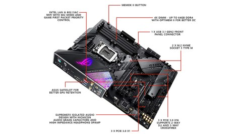 Asus Republic of Gamers STRIX Z390-E Gaming motherboard review