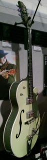 Gretsch in 2-Tone Green