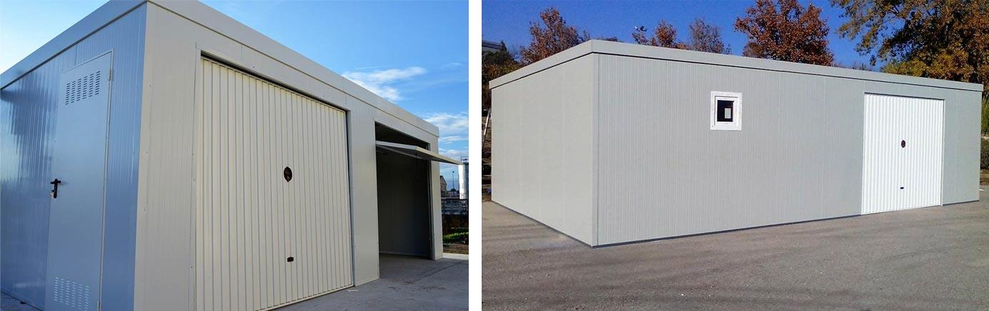 Garajes almacenes prefabricados met licos trasteros y for Trasteros prefabricados precios