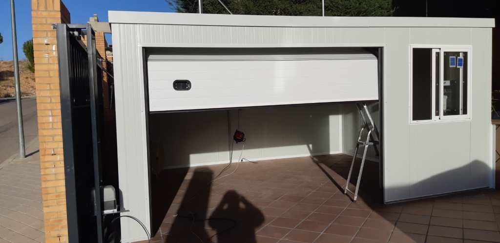Instalación de garaje desmontable en Madrid