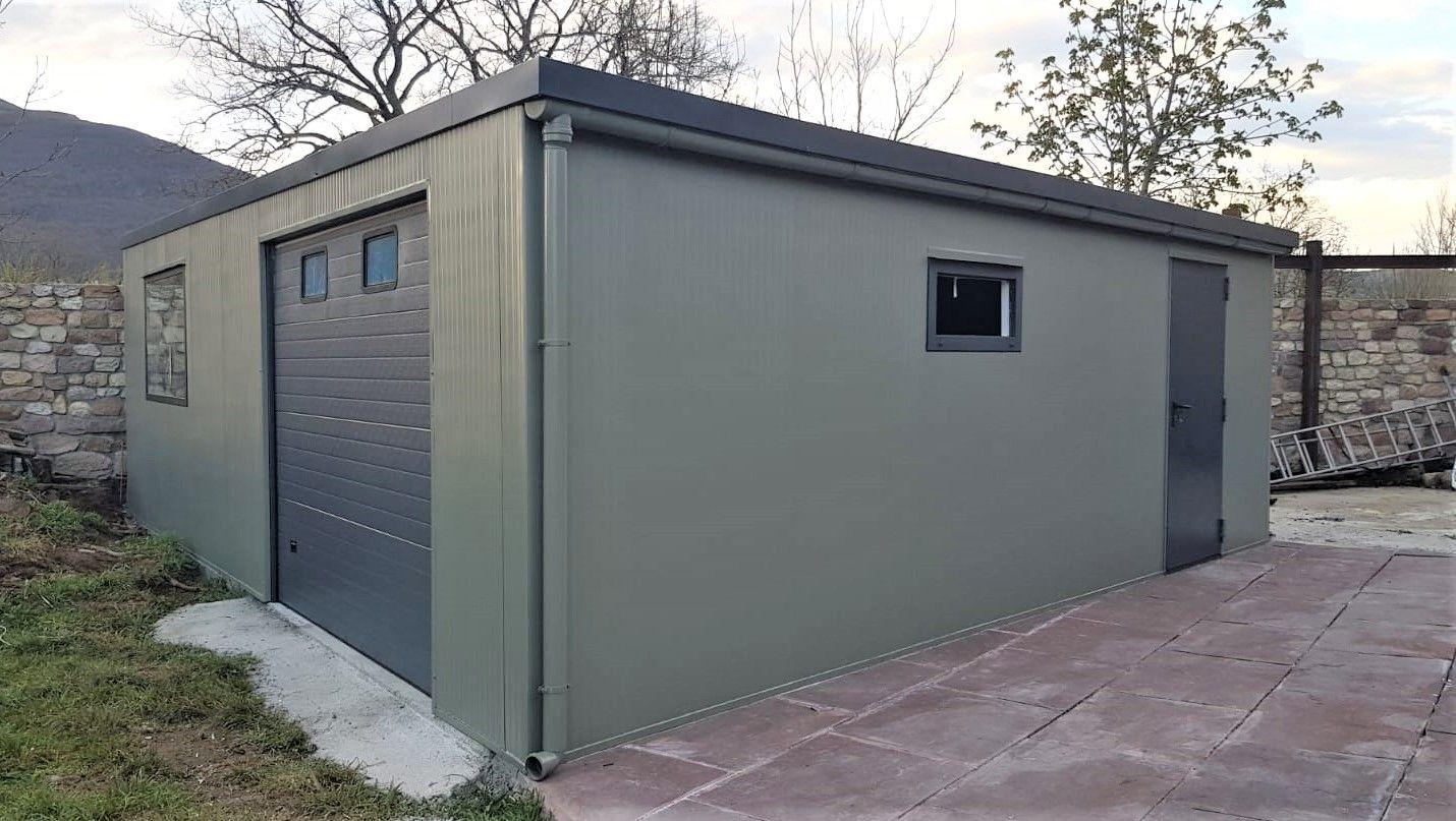 Instalacion garaje modular en Cantabria