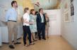 """Inauguración de la exposición """"Vicente Paredes y el patrimonio cultural de Extremadura"""". Biblioteca Pública de Cáceres."""