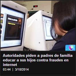 Cómo educar hijos contra fraudes en internet
