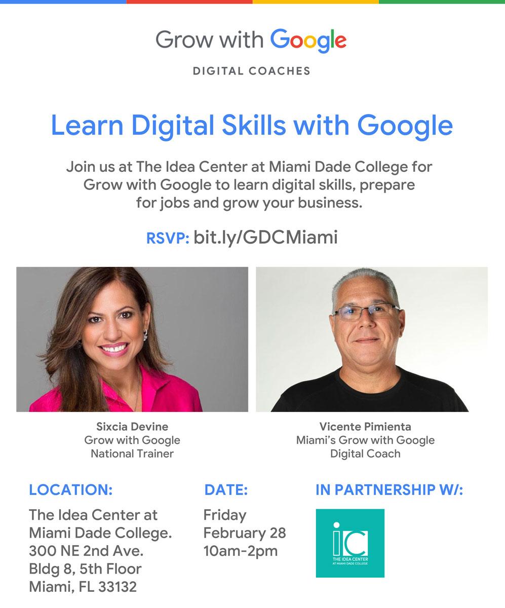 Habilidades digitales con Google
