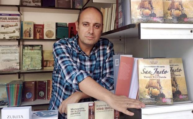 Vicente Ruiz, Premio de Investigación 'Cronista Cazabán' 2017