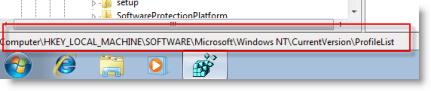 windows7registry