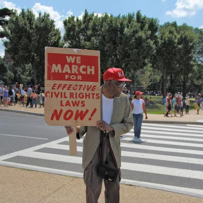 Photo of 50th Anniversary of Civil Rights March on Washington for Jobs and Freedom