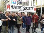 Humanists at World Refugee Day march in Melbourne