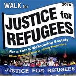 Walk for Justice for Refugees poster