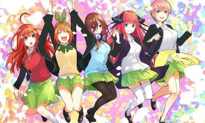 A 12° edição da Weekly Shōnen Magazine, revelou nesta terça-feira que o anime Gotōbun no Hanayome irá ganhar uma 2° temporada para o anime este ano.