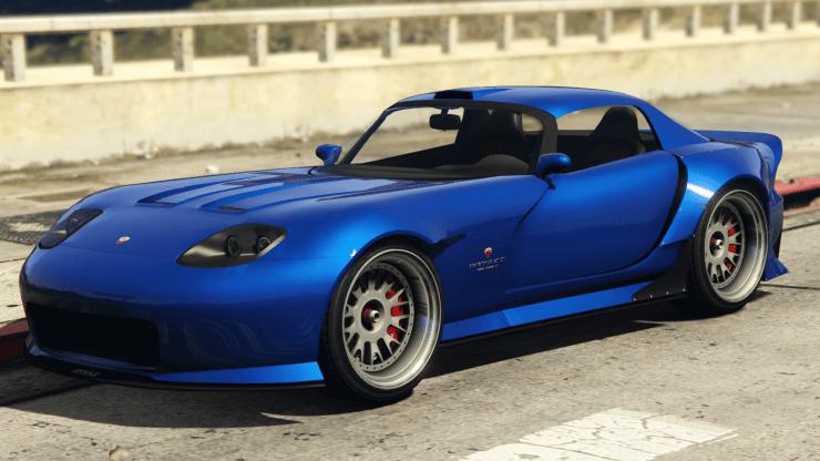 O Bravado Banshee é um carro icônico na franquia Grand Theft Auto da Rockstar Games (Imagem: Banshee no GTA 5)