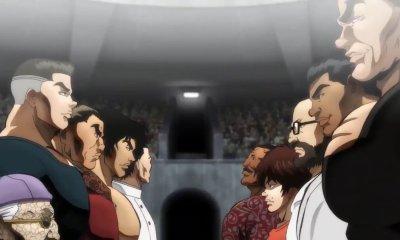 Foi revelado o trailer internacional e um novo pôster de Baki: Dai Raitaisai-hen, a segunda temporada de Baki pela netflix.