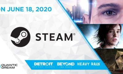 A Quantic Dream revelou que dia 18 de junho vão ser disponibilizados na Steam os seus jogos: Heavy Rain, Beyond: Two Souls e Detroit: Become Human.
