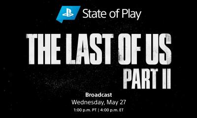Transmissão ao vivo do State of Play chegando nesta quarta-feira de The Last of Us 2. Haverão mais informações e novas imagens de jogabilidade.