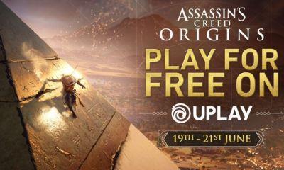 Assassin's Creed Origins terá um fim-de-semana gratuito de 19 a 21 de Junho, mas somente para PC através do Uplay.