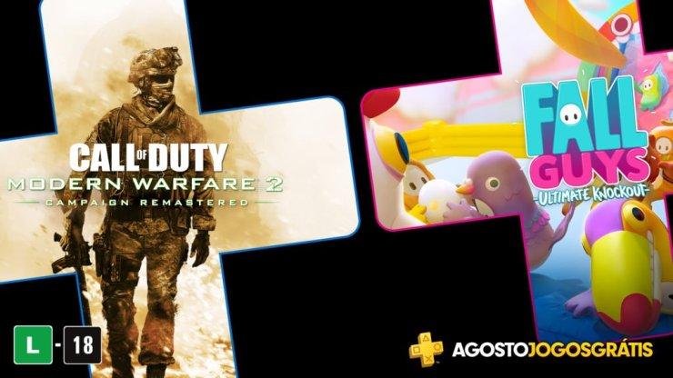Se você não ganhou os 40 reais, pode ainda aproveitar os games da PS Plus de Agosto!