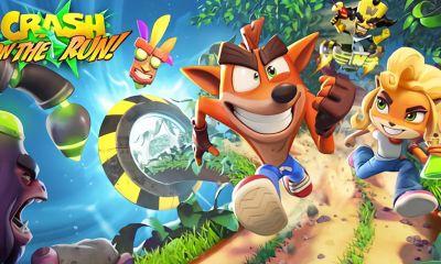 King Digital anuncia Crash Bandicoot: On the Run, novo jogo para dispositivos móveis que apresenta estágios e chefes icônicos da série.
