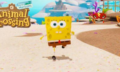 Jogador de Animal Crossing: New Horizons está compartilhando sua divertida e não muito detalhada recreação do Bairro de Bob Esponja no Reddit.