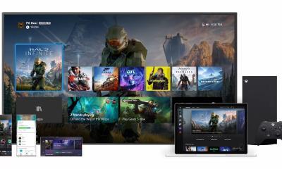 """Junto com o lançamento do Xbox Series X, vira uma nova interface de usuário a """"Xbox Experience"""" que é uma revisão da interface atual."""