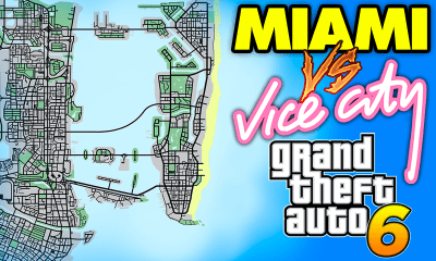 GTA 6: Vice City VS. Miami - Explorando a Cidade do Jogo na Vida Real [vídeo]