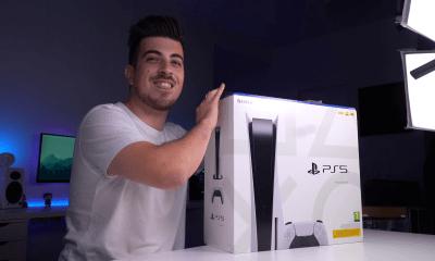 Este é o primeiro unboxing do PlayStation 5!