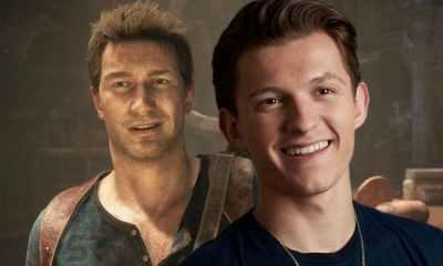 Uncharted finalmente recebeu as primeiras imagens e agora podemos ver como Tom Holland, o nosso cabeça de teia da fica como Nathan Drake.