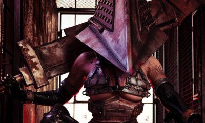 Jessica Nigri decidiu entrar no lugar de um dos antagonistas mais iconicos e históricos da saga Silent Hill, o assustador Pyramid Head.