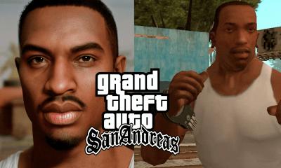 Agora, um artista profissional de 3D decidiu reimaginar o personagem de GTA San Andreas, Carl Johnson ou CJ para os amigos em HD .