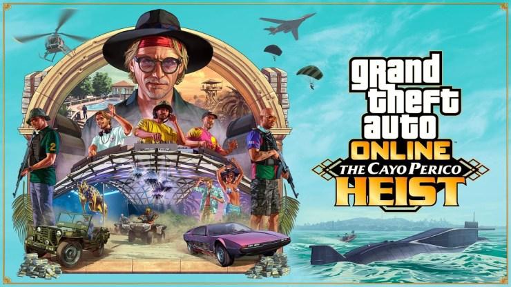 """The Heist of Cayo Perico"""" foi a última DLC lançada para GTA Online."""