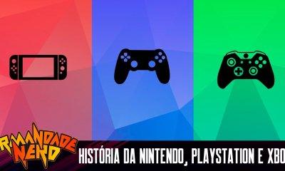Nintendo, PlayStation e Xbox: a história das 3 gigantes dos consoles | IN #49