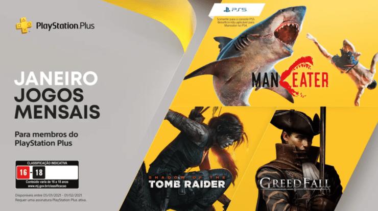 Você ainda pode aproveitar os games da PS Plus de Janeiro.