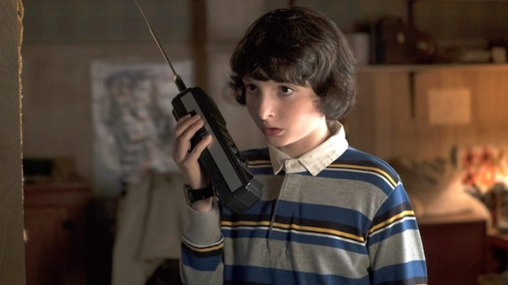 Finn Wolfhard interpretando Mike Wheeler em Stranger Things.