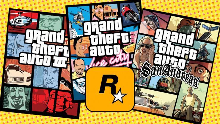 GTA 3, Vice City e San Andreas devem chegar ainda em 2021 com gráficos remasterizados.