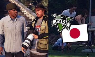 A missão Paparazzi foi severamente alterada na versão japonesa de Grand Theft Auto 5!