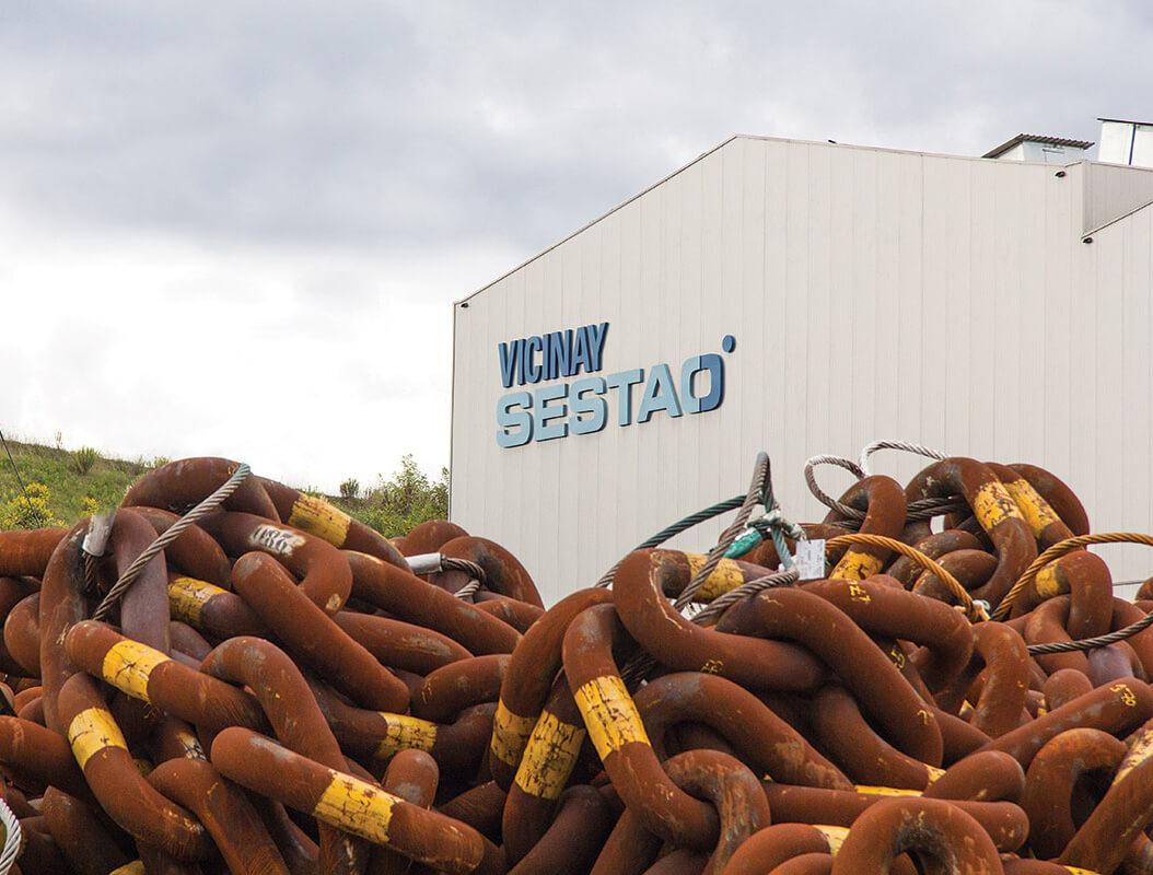 Vicinay-Sestao-marine-offshore-mooring-liner-mooring services-cadenas-mooring chains-offshore mooring-cadenas-empresa-company-facilities-factory-instalaciones